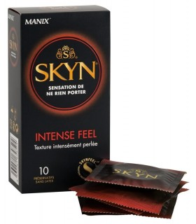Profilattici SKYN Senza Lattice - Intense Feel 10pz - Classici