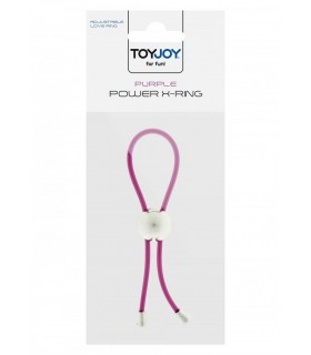 Anello Pene regolabile - Power X Ring Viola  - Anelli Fallici